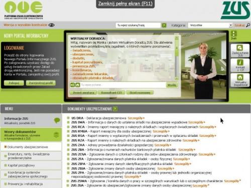 Nowy portal informacyjny ZUS