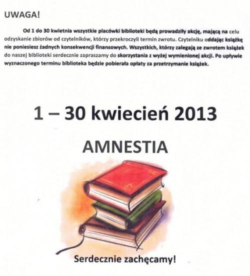 Amnestia w Boguszowie