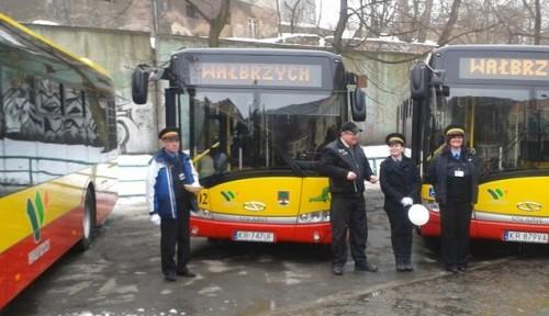 Prezentacja nowego taboru autobusowego