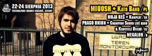 Miuosh, Moja Reč, Prago Union i Megaloh na 12. edycji Festiwalu z Atmosferą