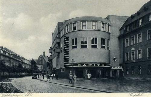 Wałbrzyskie Kino Capitol w latach 30-tych