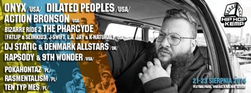 Action Bronson dołącza do line-upu Hip Hop Kemp 2014