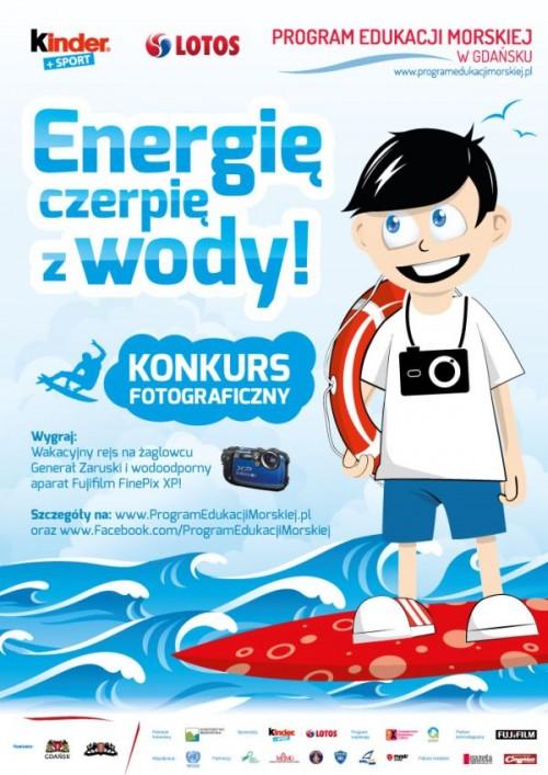 Energię czerpię z wody!