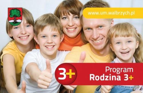 Wałbrzyska Karta Rodzina 3 Plus