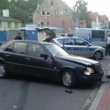 Wypadek na ulicy 11 Listopada 97 (foto. Marcin Matyjaszczuk)
