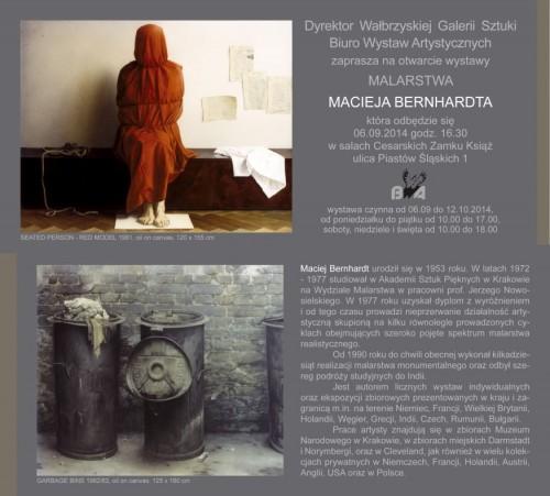 [wystawa] Maciej Bernhardt