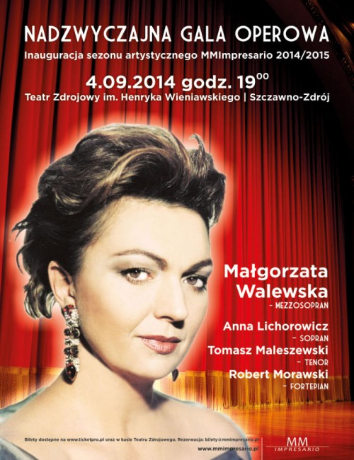 [koncert] Małgorzata Walewska