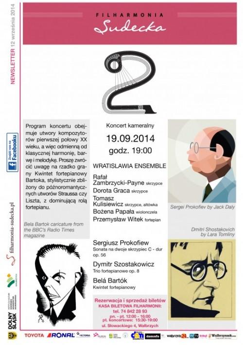 Koncert kameralny Wratislawia Ensemble