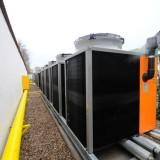 Nowoczesna kotłownia gazowa wykorzystująca technologię odzyskiwania ciepła z powietrza w wałbrzyskiej Palmiarni