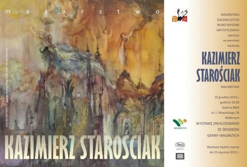 [wystawa] Kazimierz Starościak