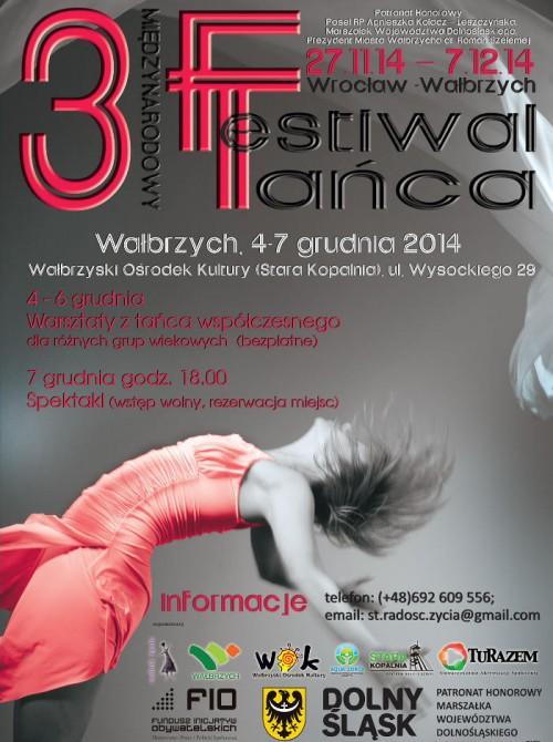 III Międzynarodowy Festiwal Teatrów Tańca