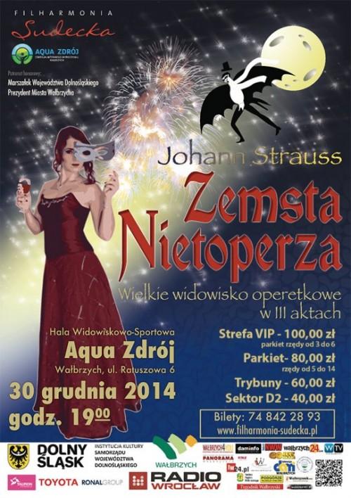 Koncert sylwestrowy Filharmonii Sudeckiej