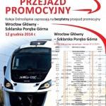 """Bezpłatny przejazd promocyjny pociągiem """"Impuls"""""""