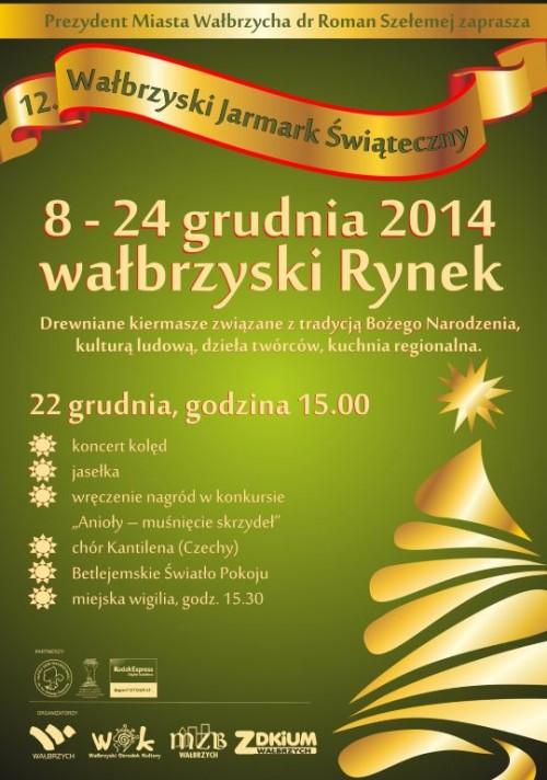 XII Wałbrzyski Jarmark Świąteczny