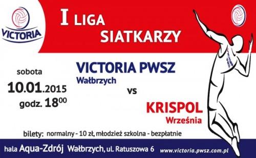 Victoria PWSZ Wałbrzych vs KRISPOL Września