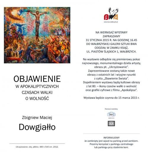 [wystawa] Zbigniew Maciej Dowgiałło