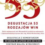 Degustacja 53 rodzajów czeskich i morawskich win