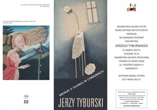 [wystawa] Jerzy Tyburski - malarstwo