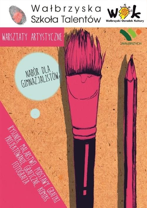 Rysunek, grafika: warsztaty artystyczne dla gimnazjalistów
