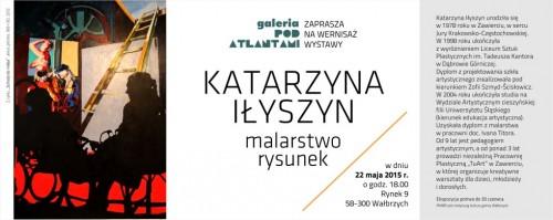 [wystawa] Katarzyna Iłszyn