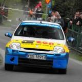 30. Rajd Karkonoski - kolejne podium załogi Krysiak/Gacek (fot. Piotr Puchalski)