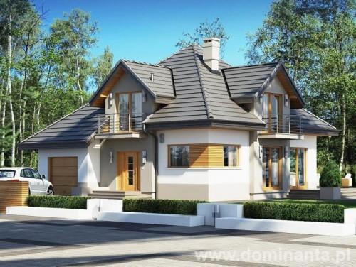 Wizualizacja projektu domu Opałek