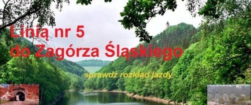 Autobus linii nr 5 do Zagórza Śląskiego