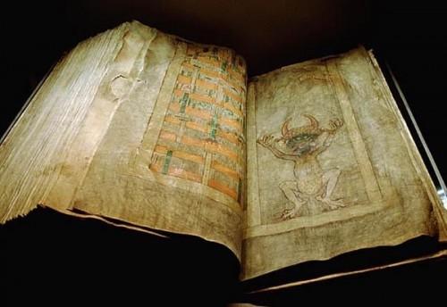 Codex Gigas jest największym na świecie średniowiecznym manuskryptem (źródło: http://goo.gl/cykCwQ)