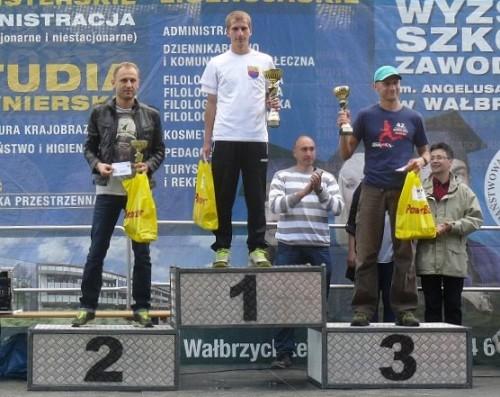 Zwycięzcy XXVII Sudeckiej 100 na dystansie 42 km (źródło: www.osir-boguszow.eu)