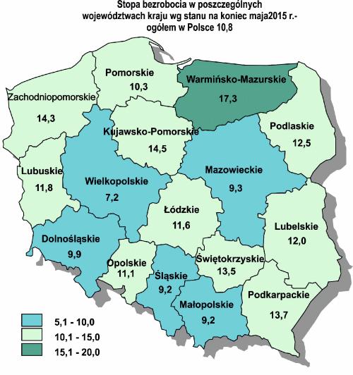 Jednocyfrowa stopa bezrobocia na Dolnym Śląsku