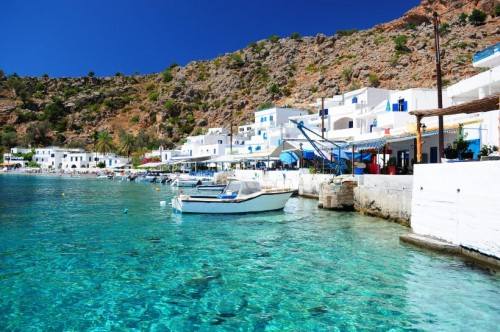 Kreta - grecka wyspa położona na Morzu Śródziemnym