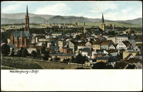"""""""Waldenburg i. Schl"""" - Datierung: vor 1905 (http://akon.onb.ac.at)"""