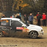 Podium załogi Nowak/Jarzyna w SKJS Kopalnia Super Special Stage (fot. Piotr Puchalski)