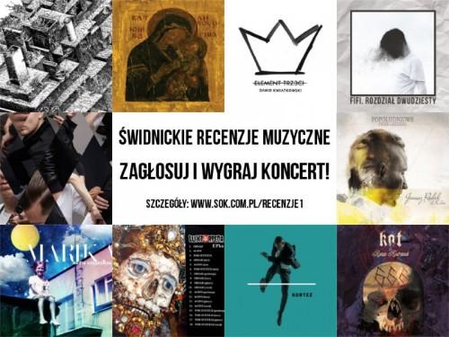 Zagłosuj na wykonawcę i wygraj jego koncert w Świdnicy