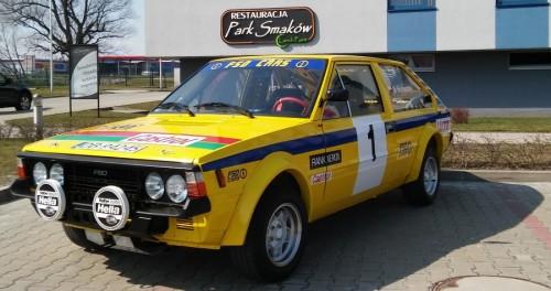 FSO Polonez 2000 Turbo (grupa P) - wałbrzyska replika [fot. Łukasz  Stępień]