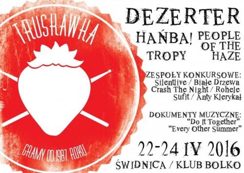 Truskawka Fest 2016 - plakat