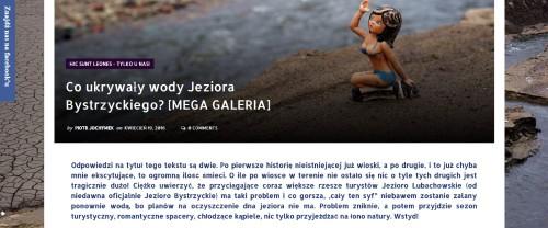 Zrzut ekranu strony www.wyszedlzdomu.pl
