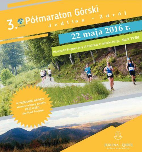 Półmaraton górski w Jedlinie-Zdroju