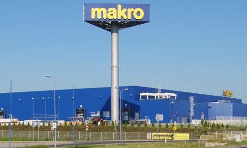 Hala Makro Cash & Carry Polska w Szczawnie-Zdroju