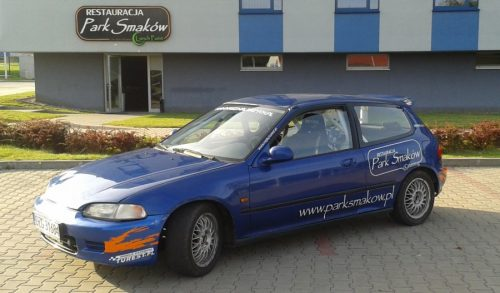 Załoga Robert Nykiel / Tomasz Kołodziejczyk (Honda Civic klasa 4)