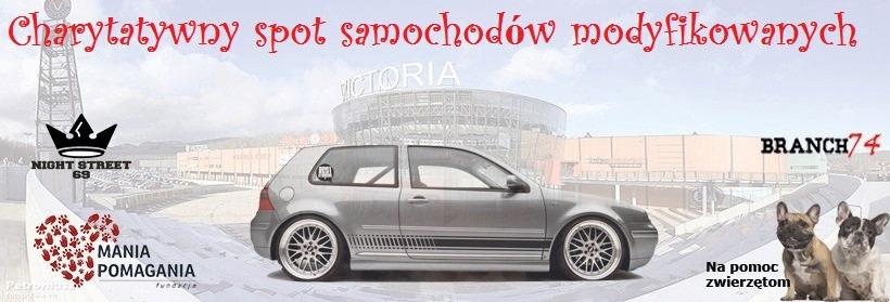 Charytatywny spot samochodów modyfikowanych