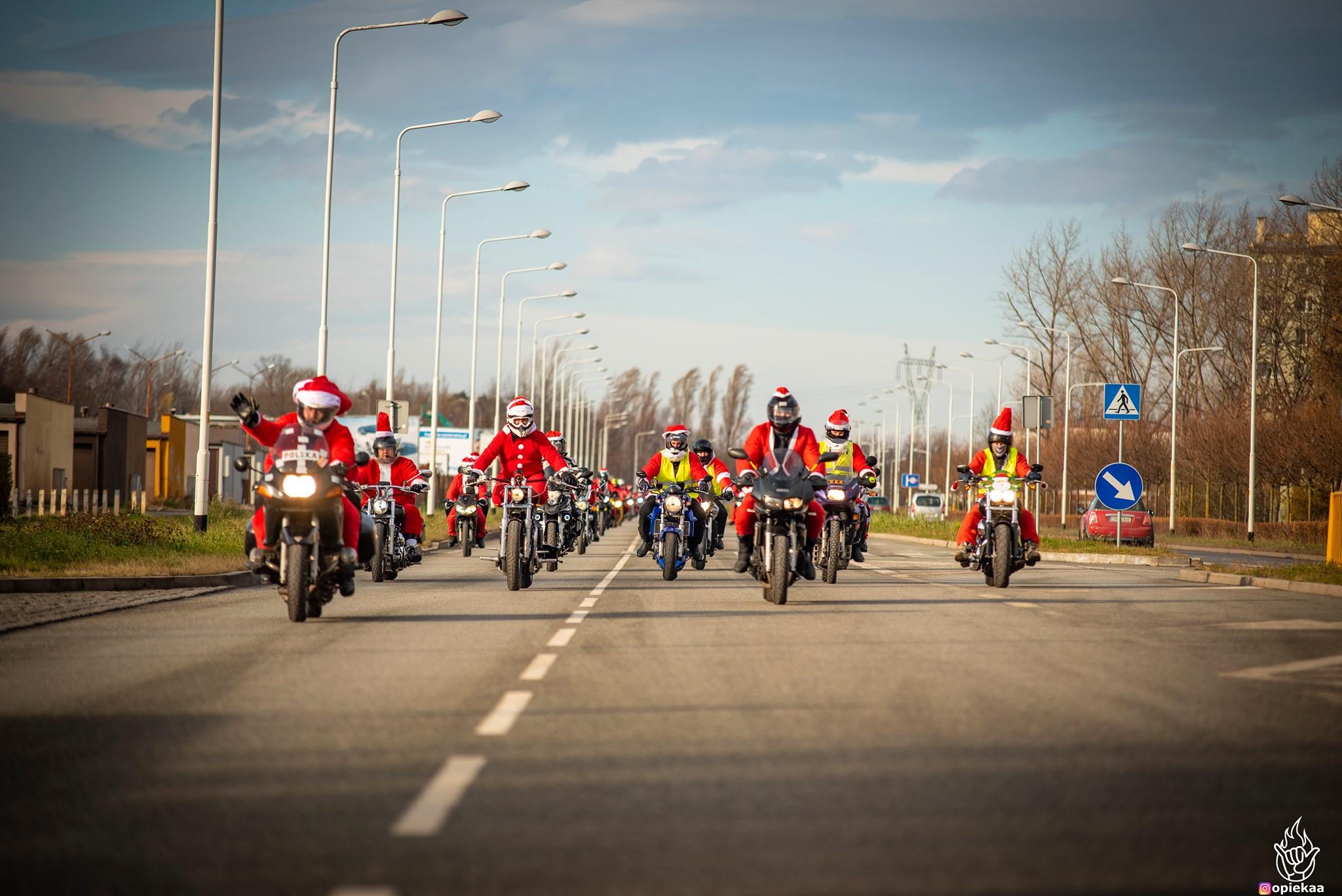 Moto Mikołaje Wałbrzych 2020 (fot. Arek Opieka)