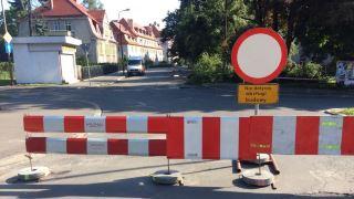 Remont ulicy Paderewskiego
