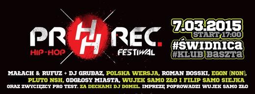 Pro Rec Hip-Hop Festival już 7 marca w Świdnicy!