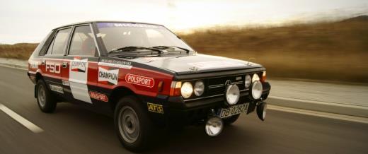 Wałbrzyska replika FSO Polonez 2000 Rally